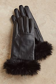 Fab Faux Fur Gloves