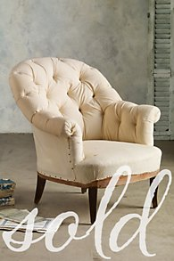 Tufted Bergere Chair