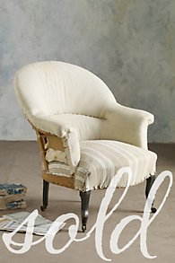 Montauban Armchair with Casters