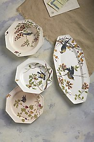 L'Oiseau Four-Piece China Set