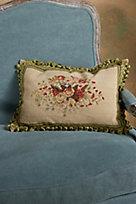 Bouquet De Fleurs Aubusson Pillow